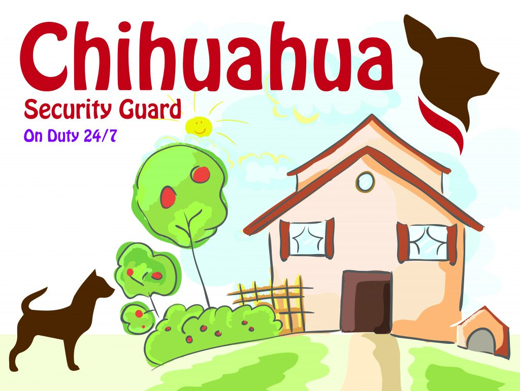 Chihuahua Security Doormat
